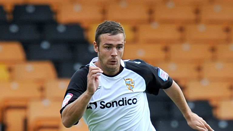 Tom Pope: Port Vale striker included in League Two Team of Year