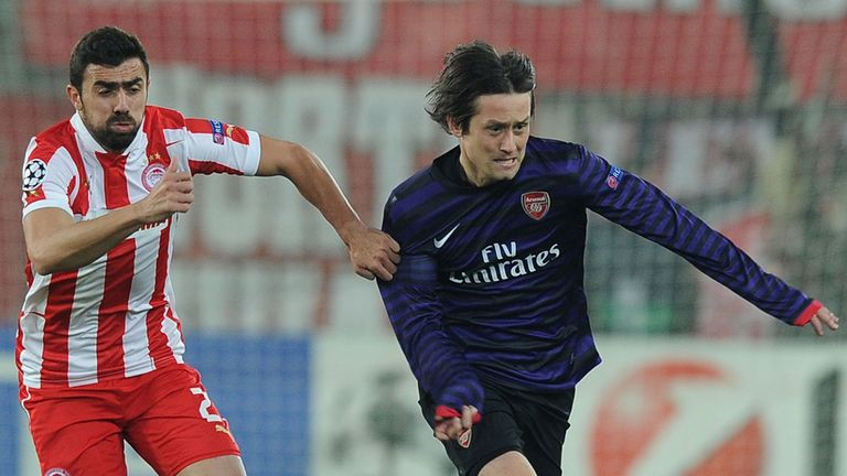 Tomas Rosicky: Arsenal midfielder is keen to play more regularly