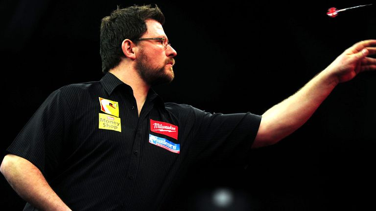 James Wade: Thrashed Peter Hudson 3-0 in World Championship opener