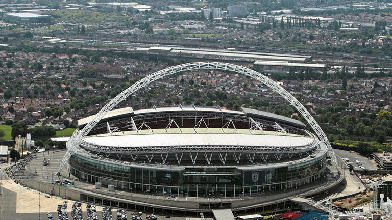 Wembley: Set to host 31,000 Bradford fans