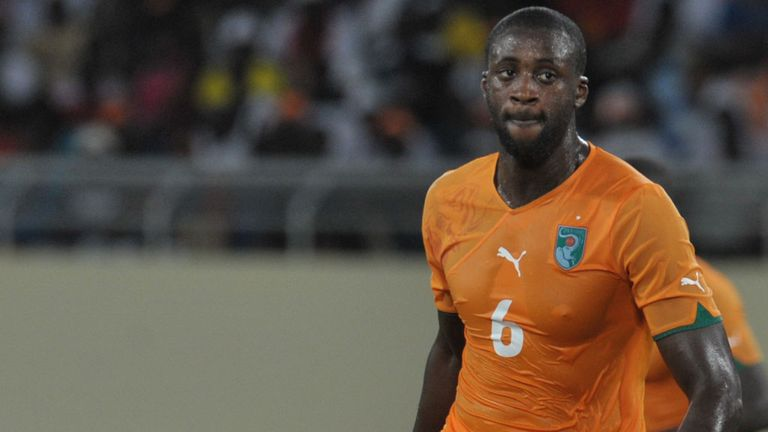 Yaya Toure is shaking off illness ahead of the Africa Cup of Nations