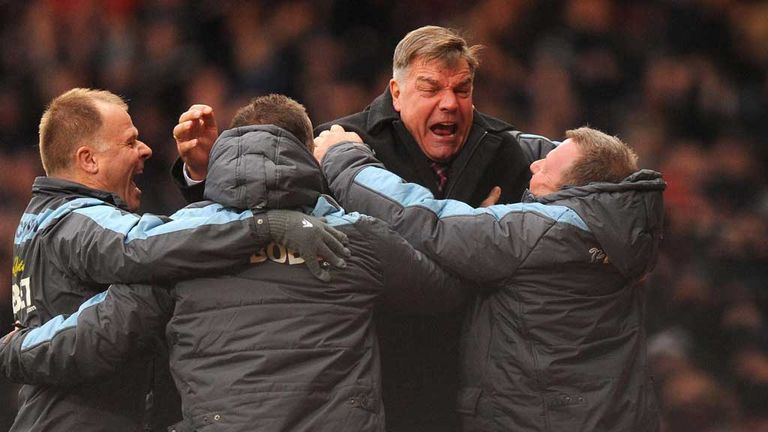 Sam Allardyce: Deems January transfer market as critical for West Ham