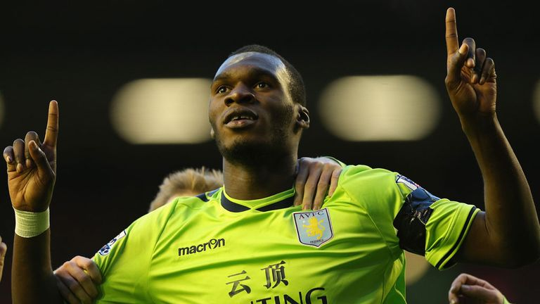 Christian Benteke: A key component of Lambert's young and hungry Villa side.