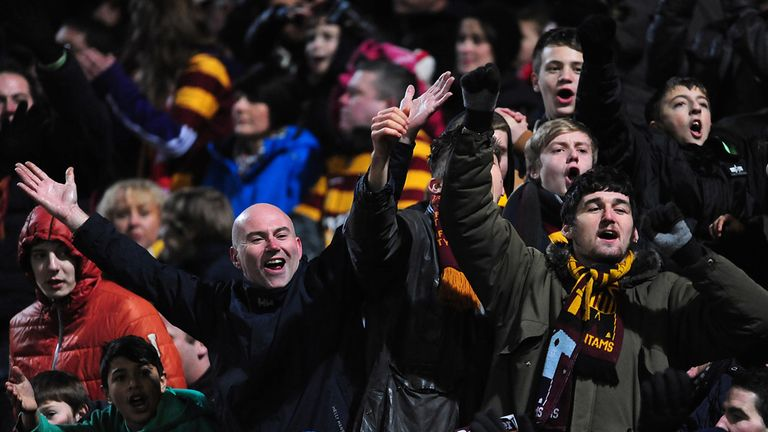 Bradford fans: Have loved the club's historic run to Wembley
