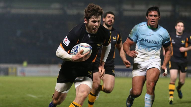 Elliot Daly: One of four new caps for the Saxons