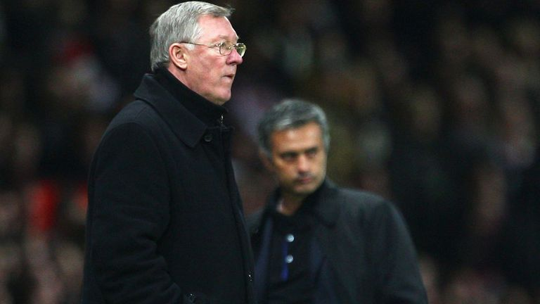 Jose Mourinho and Sir Alex Ferguson go head-to-head on Wednesday