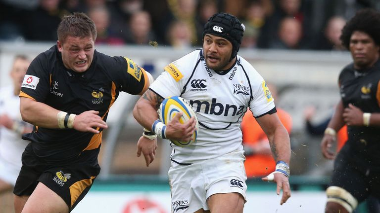 Sam Tuitupou: I am very happy here at Sale and my family is happy in the area too