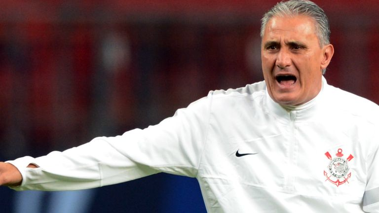 Tite: Aiming to lead Corinthians to their second Club World Cup success