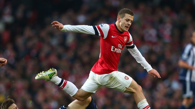 Jack Wilshere: Midfielder was a star performer in Arsenal's 2-0 weekend win over West Brom