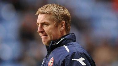 Dean Smith: Full of praise for striker