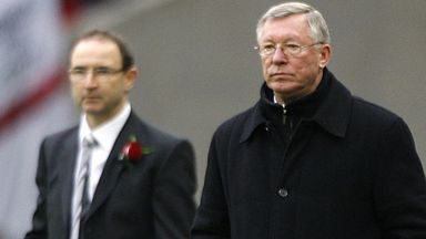 Martin O'Neill: Saw his side lose to Alex Ferguson's men
