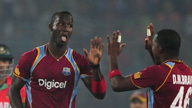 Darren Sammy: West Indies captain hit 60 not out and took 3-28