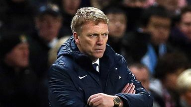 David Moyes: Does not expect a busy transfer window