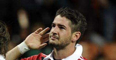 Alexandre Pato: Leaves Milan to return to Brazil with Corinthians