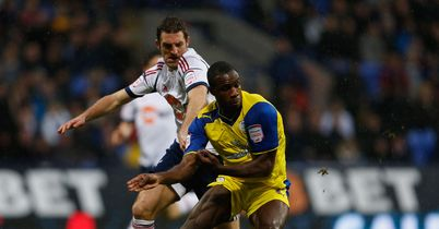Ricketts and Antonio: Battling for the ball
