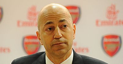 Ivan Gazidis: Believes Arsenal need to invest in a new striker this January