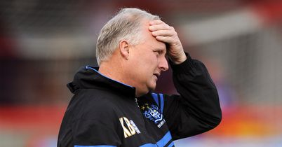 Kevin Blackwell: Loses loan duo