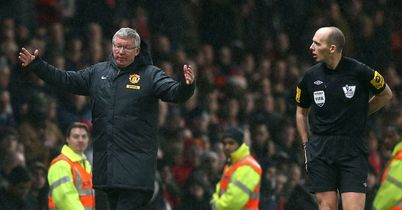 Sir Alex Ferguson: Was unhappy with officials