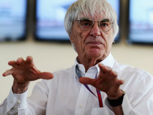 Bernie Ecclestone: Delighted with deal