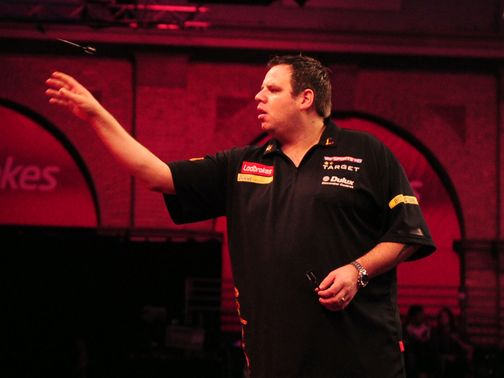 Adrian Lewis: Had to work hard for victory