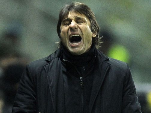 Antonio Conte: Has welcomed reports linking him with a summer move to Chelsea