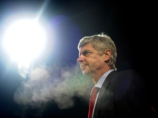 Wenger: Backed by former Arsenal manager