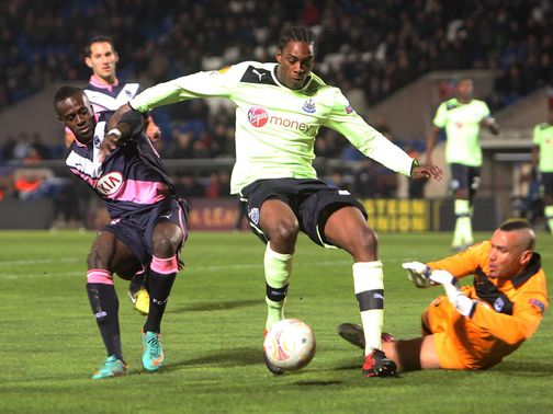 Nile Ranger: Thought his future at Newcastle was over