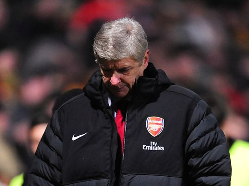 Wenger: Saw his side dumped out on penalties