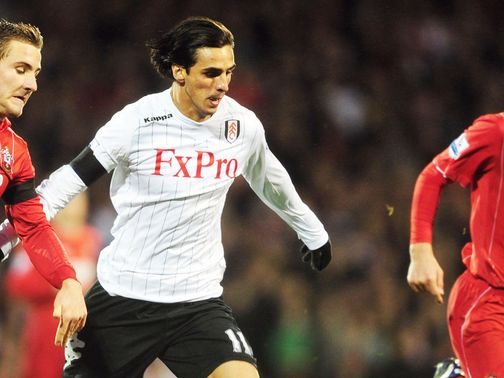 Bryan Ruiz: Targeting a top half place for Fulham