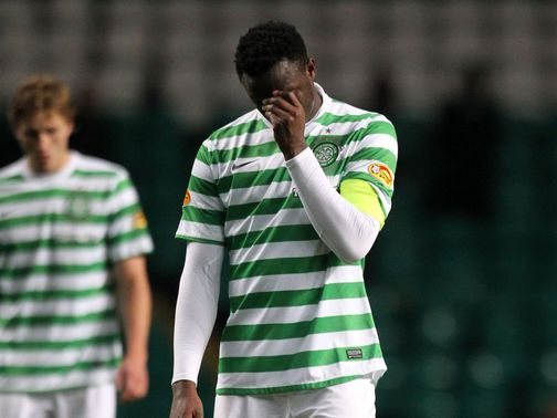Victor Wanyama shows Celtic's frustrations