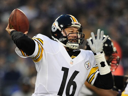 Charlie Batch: Led crucial late drive for the Steelers
