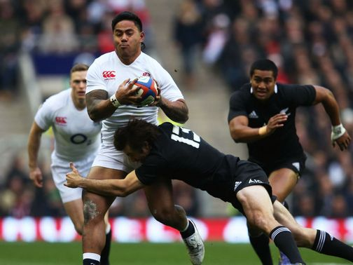 Manu Tuilagi: Struggling with an ankle injury