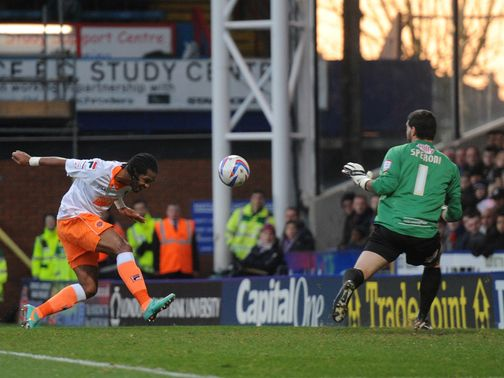 Delfouneso heads home the opening goal