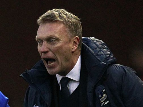 Moyes: Keen to see off Monday's rivals and progress