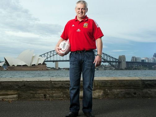 Gatland: British & Irish Lions coach