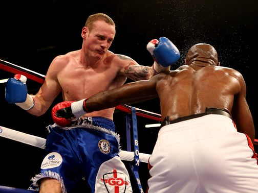 George Groves goes on the attack against Johnson