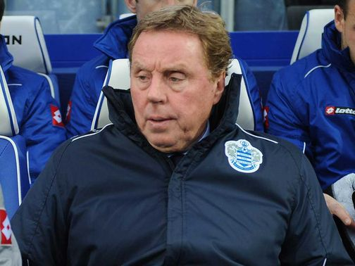 Harry Redknapp: No reason to party at Loftus Road
