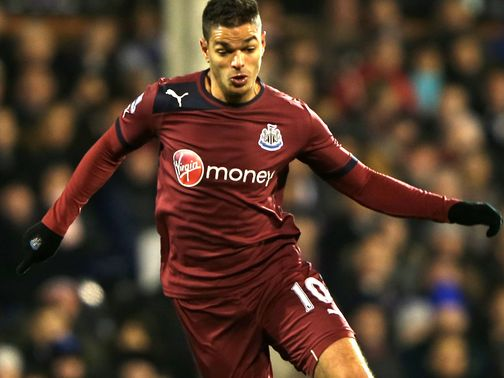 Hatem Ben Arfa: Hamstring injury
