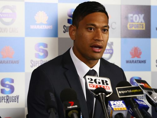 Israel Folau: Switching to rugby union