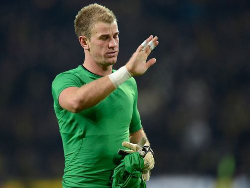 Joe Hart: Won't ignore criticism