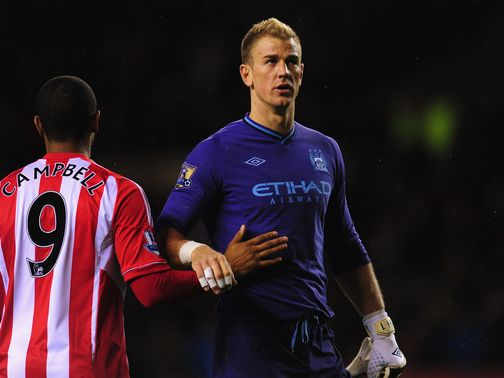 Joe Hart: Says that perfection is impossible