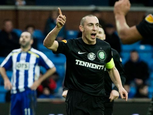 Scott Brown: Will face Juventus in the Champions League