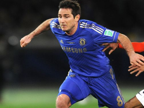 Frank Lampard: Has told his team-mates about Leeds rivalry