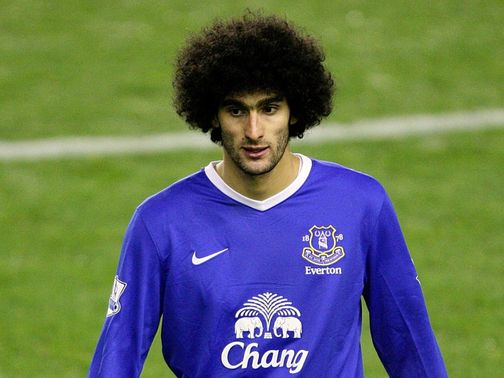 Fellaini: Linked with a move from Everton