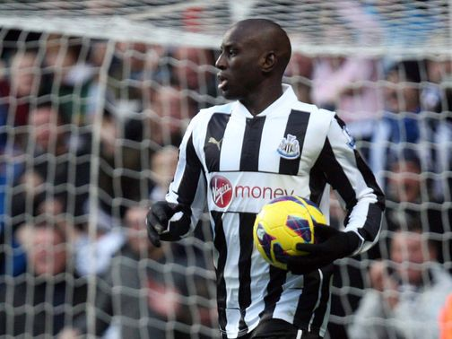 Demba Ba: Interested in a move to Arsenal