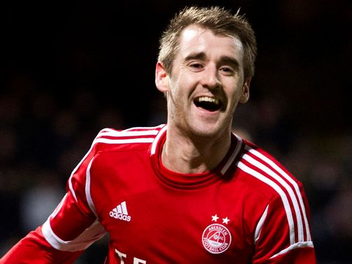 Niall McGinn: Hat-trick hero for the Dons