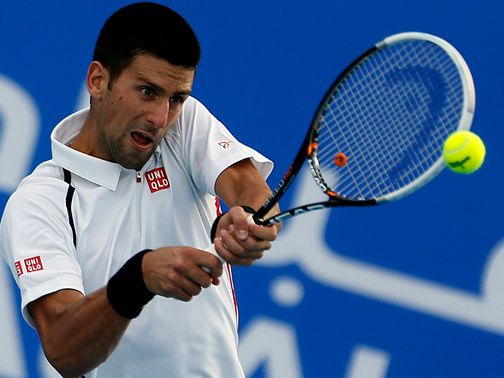 Novak Djokovic: Easily defeated David Ferrer