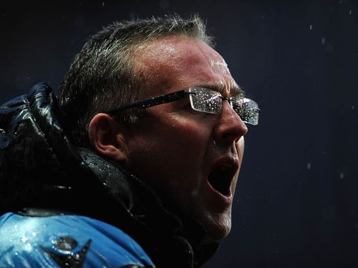 Paul Lambert's Villa lost 3-0 to Wigan