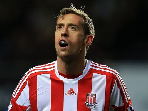 Peter Crouch: Interests Harry Redknapp