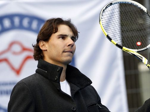 Rafael Nadal: Signed up to play in Brazil
